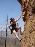 Rock Climbing Photo: Sharina at the start.