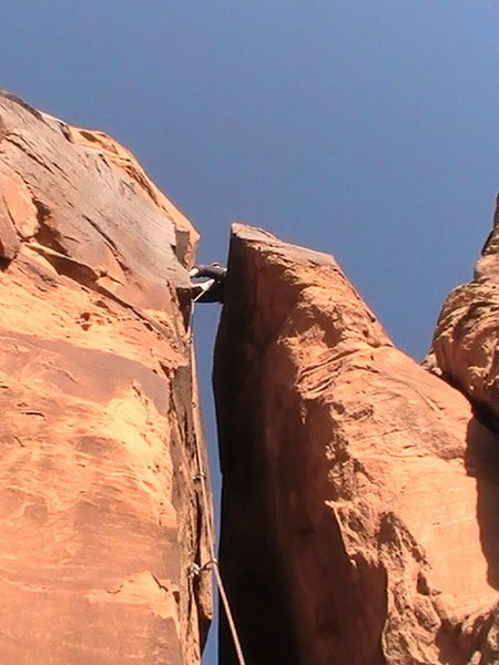 Rock Climbing Photo: First Ascent of Root Canal