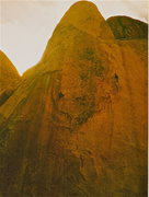 Rock Climbing Photo: figures on a landscape circa 1995