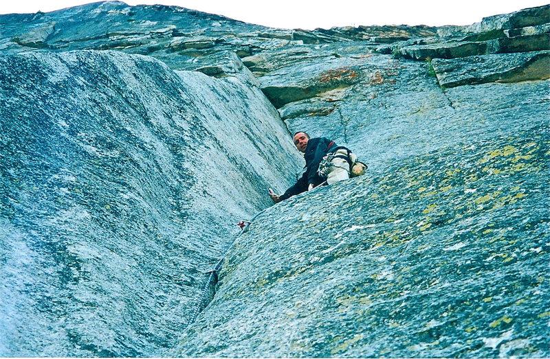 Rock Climbing Photo: regular route
