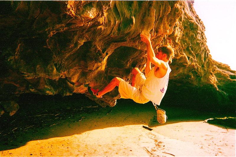 Rock Climbing Photo: ironman