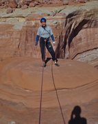 Rock Climbing Photo: Summit - on a cold day in November. I'm wearing tw...