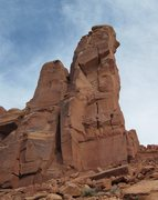 Rock Climbing Photo: View of Lightning Bolts