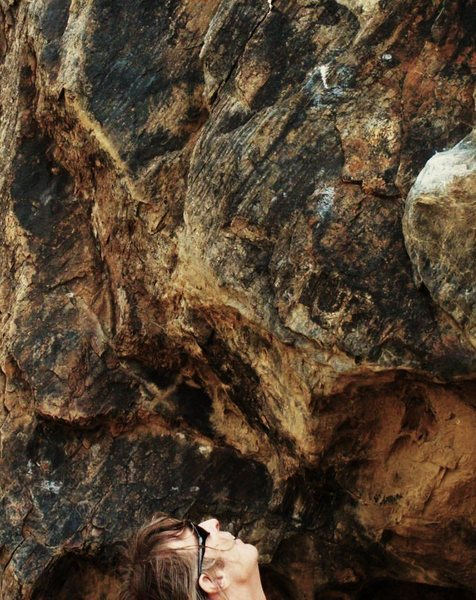 Rock Climbing Photo:  n00b...