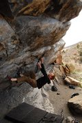Rock Climbing Photo: Warming up on one of my favorite V2s in the Colora...