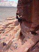 Rock Climbing Photo: Final clip.