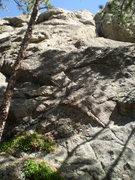 Rock Climbing Photo: The pleasant slab.