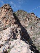 Rock Climbing Photo: Hop hop hop