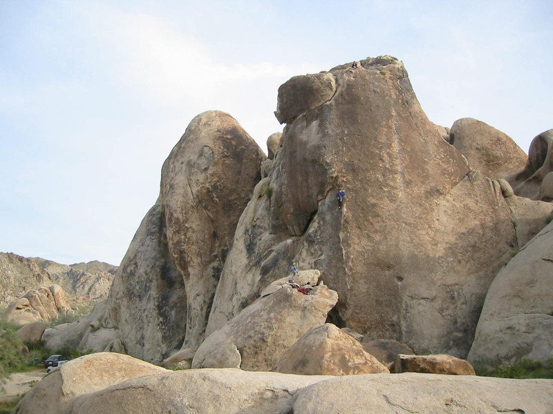 Rock Climbing Photo: Craig (5.10d)