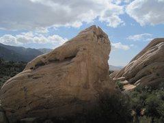 Rock Climbing Photo: Finishing up Pebble Peach