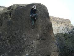 Rock Climbing Photo: Michelangelo, Joe's Valley, UT.