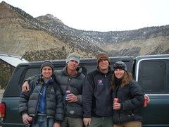 Rock Climbing Photo: The Joe's Valley crew in April.