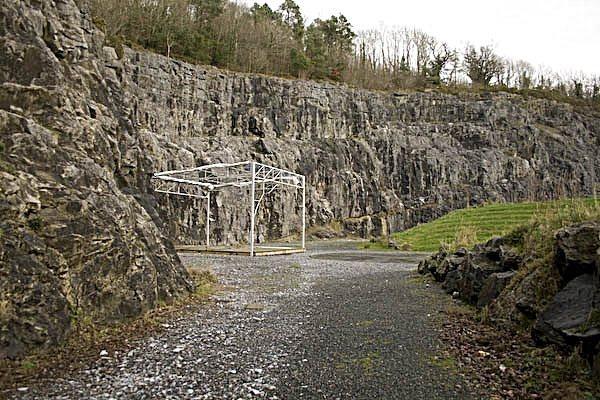 Rock Climbing Photo: Ballykeeffe Quarry climbing area.