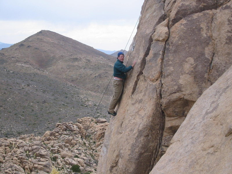 Rock Climbing Photo: The late Tom Burke has done Sharon Stone.....somet...