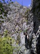 Rock Climbing Photo: Myself on Stampede.