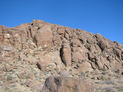 Rock Climbing Photo: This is on a formation very close to the road, as ...