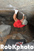 Rock Climbing Photo: Skyeler on the Bachar Cracker.