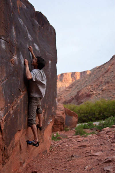 Josh Orin on Black Box Boulder