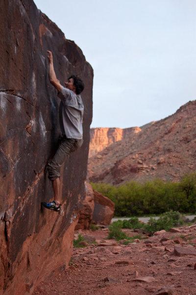 Josh Orin on Black Box Boulder