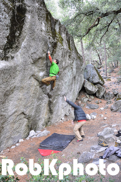 Rock Climbing Photo: Brad Gobright defies the Force.