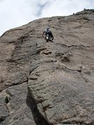 Rock Climbing Photo: Matt Novinger makes quick work of Coloradoddity.