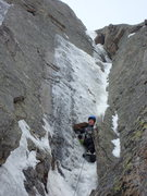 Rock Climbing Photo: Anti-Christ on pitch three.