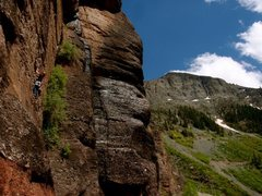 Rock Climbing Photo: pipeline wall, telluride