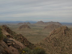 Rock Climbing Photo: the checkerboard, dona ana mountains