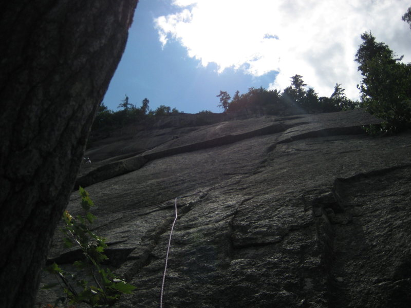 Rock Climbing Photo: First pitch of Beginners Route