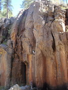 "Rock Climbing Photo: Top of finger crack on ""Aqualung"""