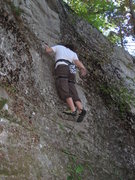Rock Climbing Photo: Amanda on the Unknown 5.6
