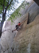 Rock Climbing Photo: Almost blew the onsight