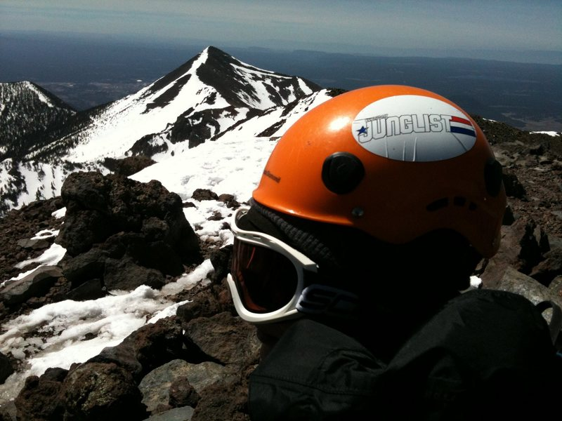 Rock Climbing Photo: Summit Shot. Humphrey's Peak (12,633 ft). Flagstaf...