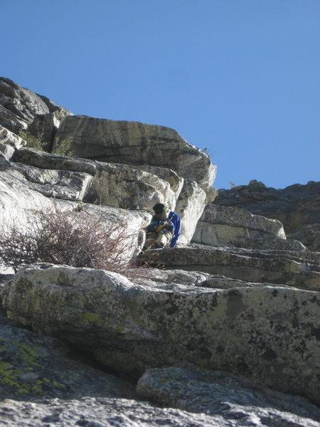 Rock Climbing Photo: The Lark 5-30-10