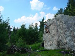 Rock Climbing Photo: Fun warmup.