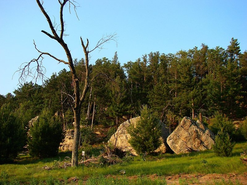 The House boulders.
