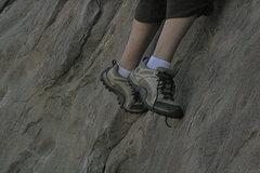 Rock Climbing Photo: Dina's first time climbing 5-29-10