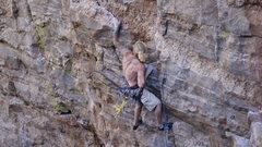 Rock Climbing Photo: gripping hard...
