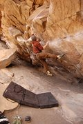 Rock Climbing Photo: Tom Scupp on Air Jordan, V5, Morrison, CO, photo n...