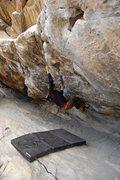 Rock Climbing Photo: Cytogrinder, V8, Morrison CO Photo 3