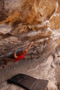 Rock Climbing Photo: Cytogrinder, V8, Morrison CO Photo 7