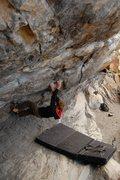 Rock Climbing Photo: Jared LaVacque on Breashear's Crack, Morrison, CO.