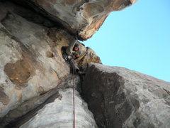 Rock Climbing Photo: Having fun on Tunnel Vision. Pretty sure Dan said ...