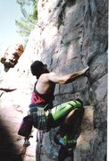Rock Climbing Photo: Pushing the limits of fashion.