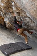 Rock Climbing Photo: Jared LaVacque on Cytogrinder, at the Black Hole, ...