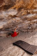 Rock Climbing Photo: Jared LaVacque enjoying the early weekday morning ...