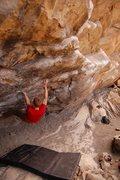 "Rock Climbing Photo: Enjoying one of the less ""contrived"" lin..."