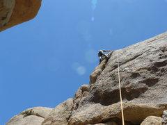 Rock Climbing Photo: Tucker Tech on Eine Dicke Frau.
