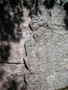 Rock Climbing Photo: The opening flakes for the regular start of Bliste...