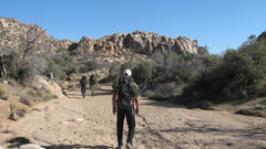 Rock Climbing Photo: Frontier Wall